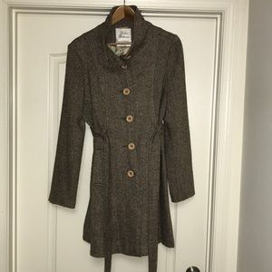 Urban outfitter light weight tweed coat